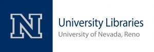University Libraries Univ of Nevada Reno logo