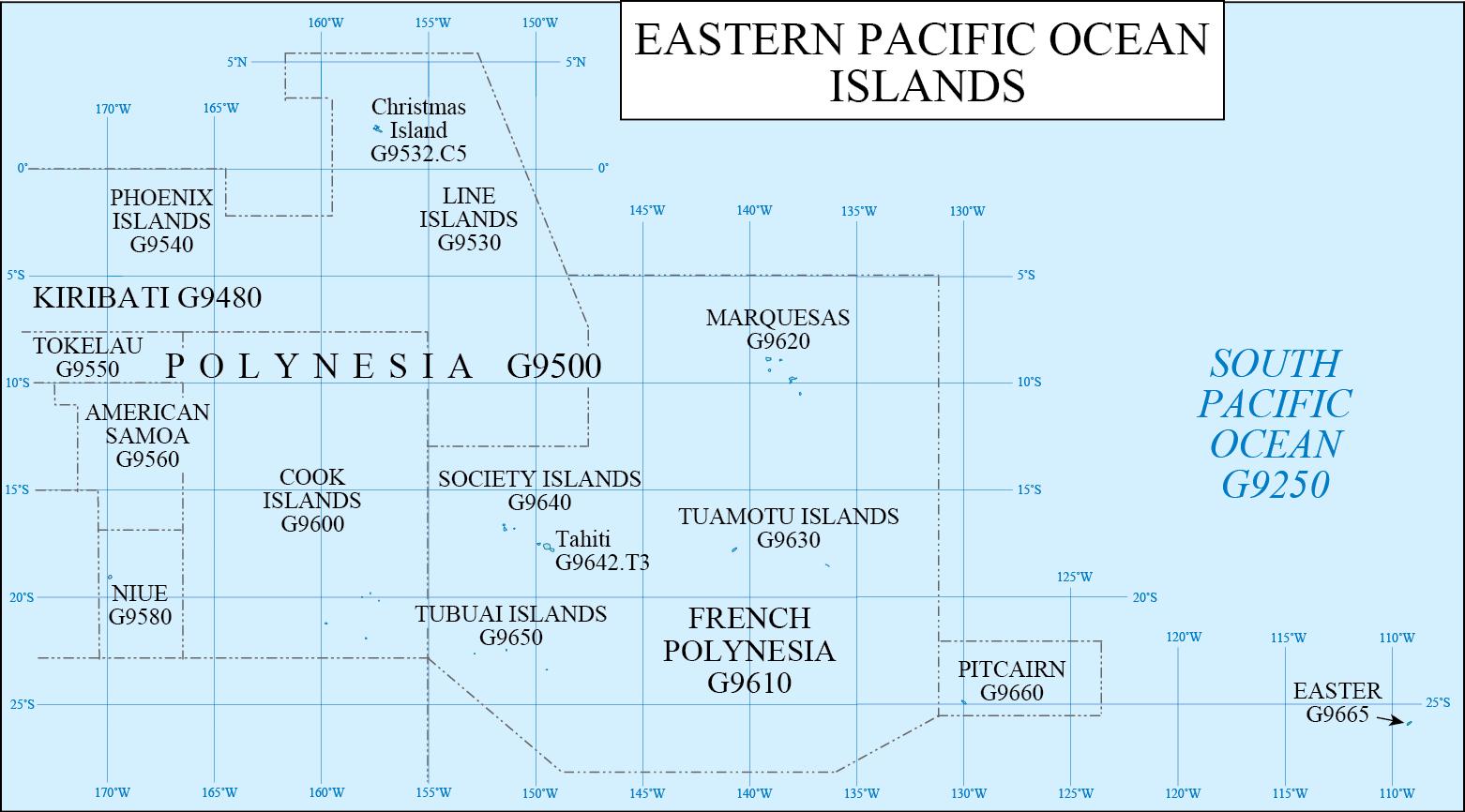 eastern pacific ocean map Lc G Schedule Map 43 Eastern Pacific Ocean Waml Information eastern pacific ocean map
