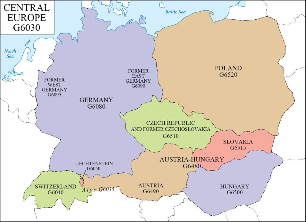 G schedule 20 Central Europe