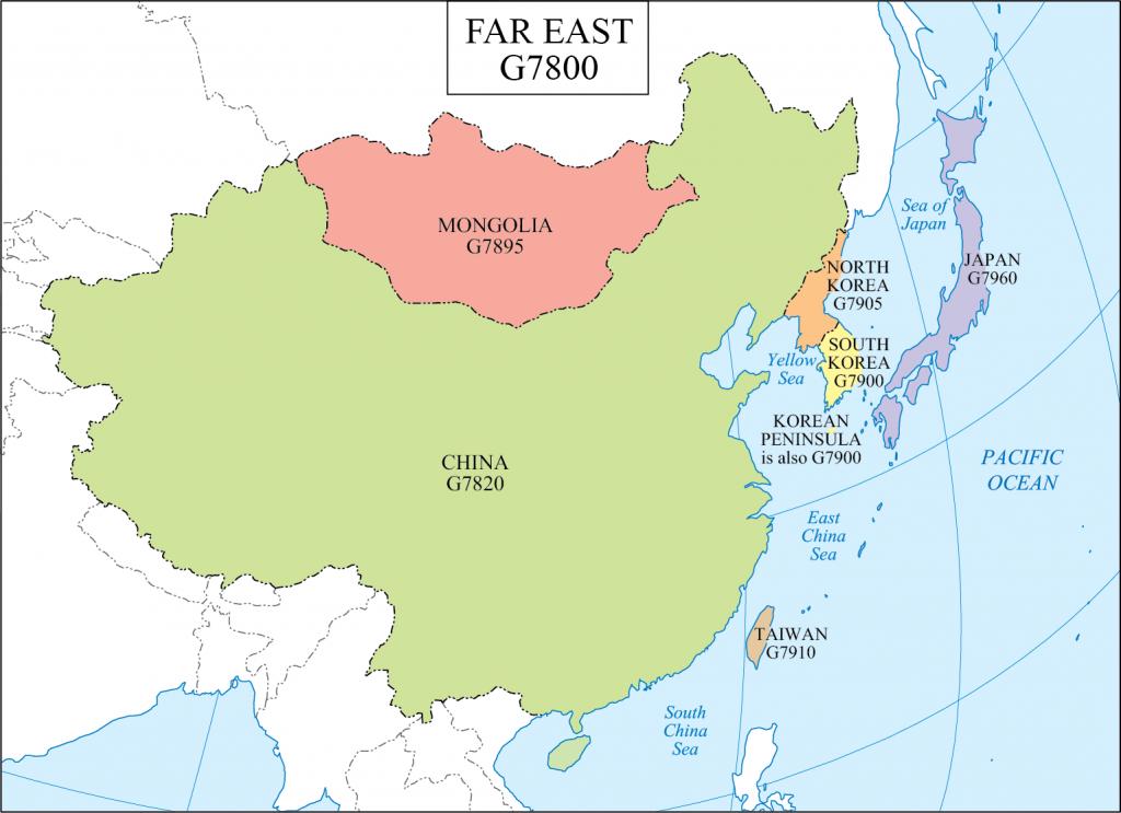 G schedule 30 Far East