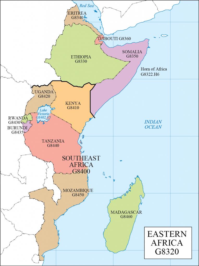 G schedule 35 Eastern Africa