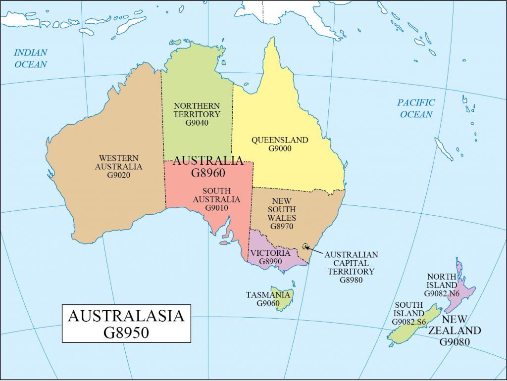G schedule 39 Australasia