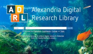 Figure 1. UC Santa Barbara Library's digital collection.